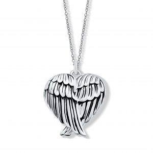 Angel Wing Locket - Sterling Silver Locket