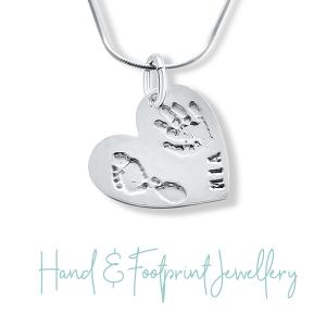 Baby Footprint Jewellery