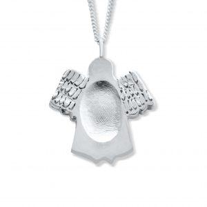 Fingerprint Angel Necklace