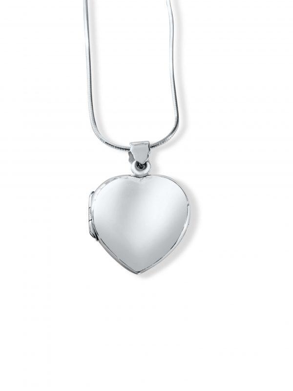 personalised heart locket