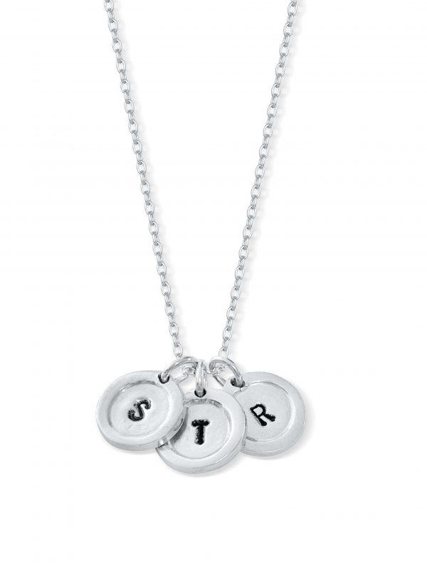 Child's Initials Necklace