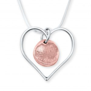 Loveheart with Copper Circle