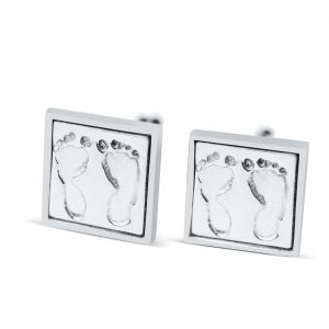 square footprint cufflinks